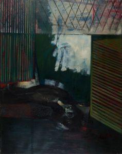 """Fenster"", 2006, Öl auf Leinwand, 165 cm x 125 cm<span class=""en""> | ""Window"", 2006,  oil on canvas, 165 cm x 125 cm</span>"