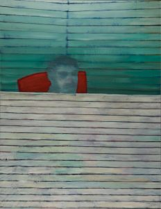 """Balkon"", 2006, Öl auf Leinwand, 165 cm x 125 cm<span class=""en""> | ""Balcony"", 2006,  oil on canvas, 165 cm x 125 cm</span>"