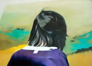 "Elsa, Öl auf Leinwand, 70cm x 125cm<span class=""en""> | Elsa, oil on canvas, 70cm x 125cm</span>"