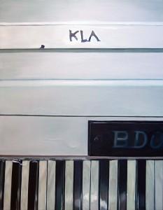 "Klavier, Öl auf Leinwand, 160cm x 125cm<span class=""en""> | piano, oil on canvas, 160cm x 125cm</span>"