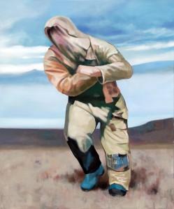 "Pedestrian, 2015 Öl auf Leinwand 120 cm x 100 cm<span class=""en""> | Pedestrian, 2015 oil on canvas 120 cm x 100 cm</span>"