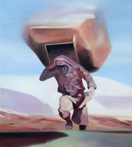 "Yphos, 2015 Öl auf Leinwand 110 cm x 100 cm<span class=""en""> | Yphos, 2015 oil on canvas 110 cm x 100 cm</span>"