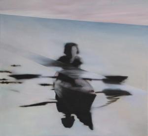 "tranquill , 2016, Öl auf Leinwand 100 cm x 110 cm<span class=""en""> | tranquill, 2016 oil on canvas 100 cm x 110 cm  </span>"