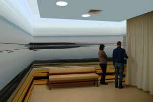 "Wandgestaltung Abschiedszimmer in einer Klinik<span class=""en""> | | wall design farewell room in a clinic</span>"
